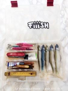 Ma boite de leurres idéale pour la pêche