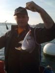 Dorade pêchées en Rance