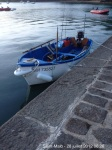 Canot breton sur la cale de La Richardais